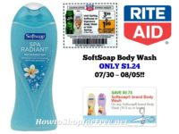 SoftSoap Body Wash ONLY $1.24 at Rite Aid 07/30 ~ 08/05!!