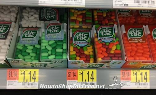 57¢ Tic Tacs at Walmart!