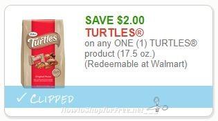 **NEW Printable Coupon** $2.00/1 TURTLES product (17.5 oz.)
