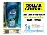 **UPDATED** Dial 12oz Body Wash 50¢ MONEY MAKER at Dollar General 07/16 ~ 07/22!