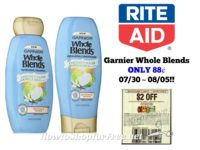 Garnier Whole Blends ONLY 88¢ at Rite Aid 07/30 ~ 08/05!!