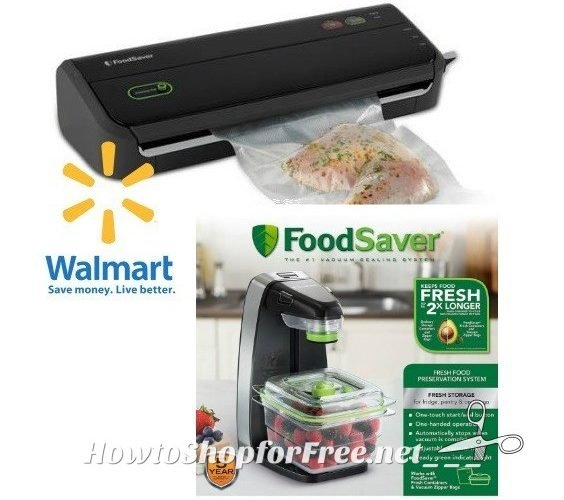 FoodSaver Deals at Walmart with $39 in NEW COUPONS!