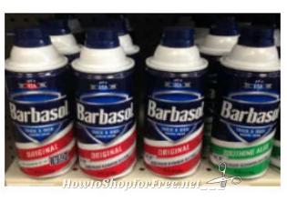 86¢ Barbasol Shaving Cream at Walmart!