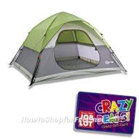 50% OFF 9ft x 8ft Five-Person Tent at Job Lot!!!