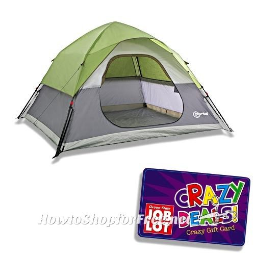 50% OFF 9ft x 8ft Five-Person Tent at Job Lot!!!