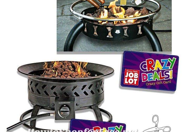 Fire Pits UNDER $30 at Job Lot! ~Crazy Deals