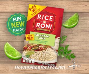 25¢ Rice-A-Roni Cilantro Lime @ Walmart!!!