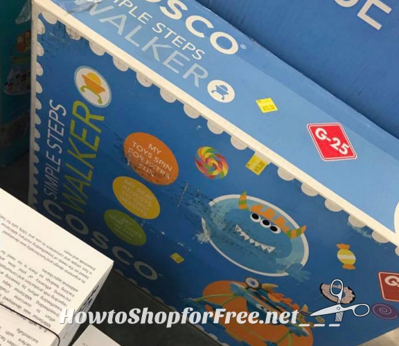 60% OFF Cosco Simple Steps Walker!