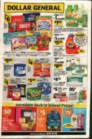 Dollar General Sale 8/6 – 8/12