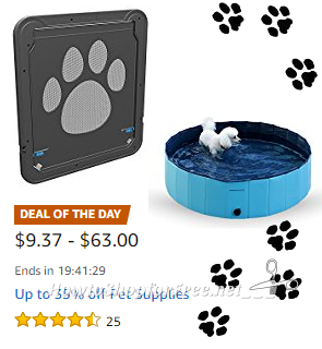 Up to 35% off Pet Supplies ~Deal of the Day