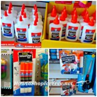 67¢ Elmer's Glue Products at Dollar Tree!
