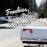 ICYMI~ Thursday's Freebies, Samples & Sweeps!