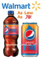 NEW Pepsi Fire deals at Walmart ~Ooohh.. Spicy!
