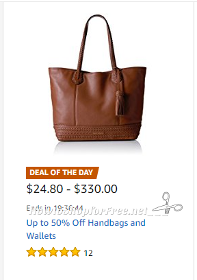 Up to 50% Off Handbags and Wallets ~Deal of the Day