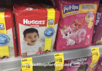 Huggies Diapers as low as $.25 at Walgreen's!