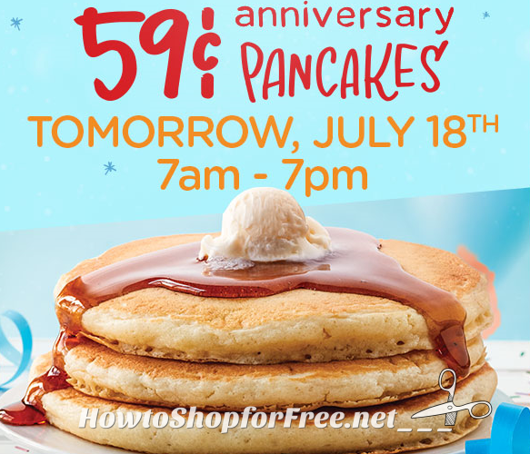 59¢ Short Stacks at IHOP Tomorrow!!! YUM!!