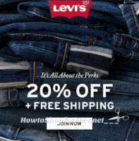 LEVI'S 20% OFF Code + Free Shipping!!