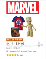 Up to 40% Off Marvel Favorites ~Deal of the Day