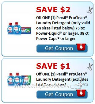 $3 in NEW Persil Savings ~ Print Now!