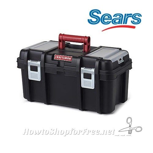 Craftsman 16″ Tool Box with Tray 51% OFF!