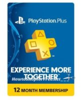 Sony PlayStation Plus 1-Year Membership UNDER $48!
