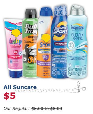 $3 Top Brand Suncare for OSJL Insiders! (7/10-12 Only)