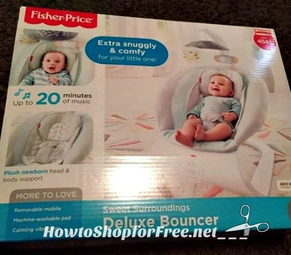 50% OFF Fisher-Price® Deluxe Bouncer!!