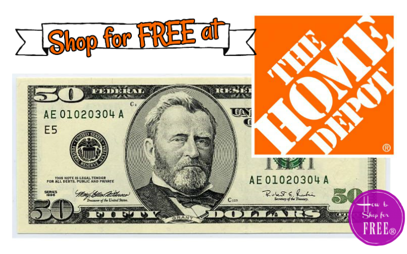 $50/$50 Home Depot Offer~ Perfect for #DIY Addicts!!