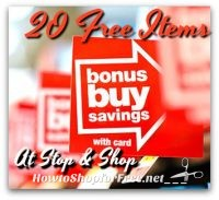 ICYMI! 20 FREE Items at Stop & Shop 8/4 – 8/10 – Updated