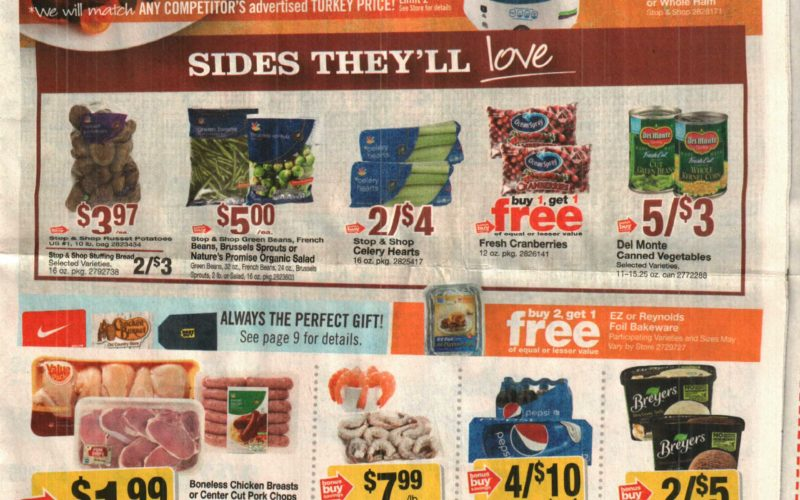 Stop & Shop Ad Scan  11/17 – 11/23