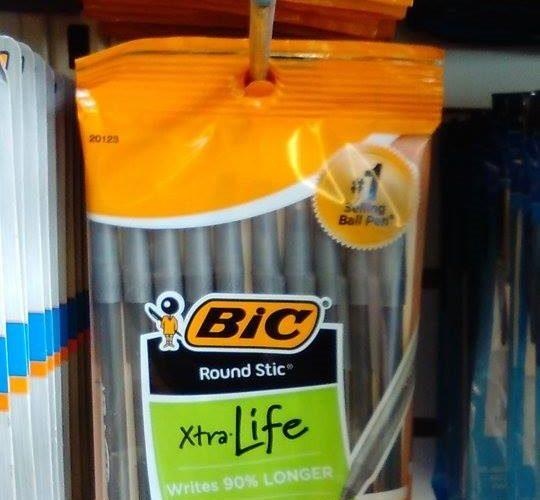 .50 BiC Round Stic Pens (10ct) at Dollar Tree!