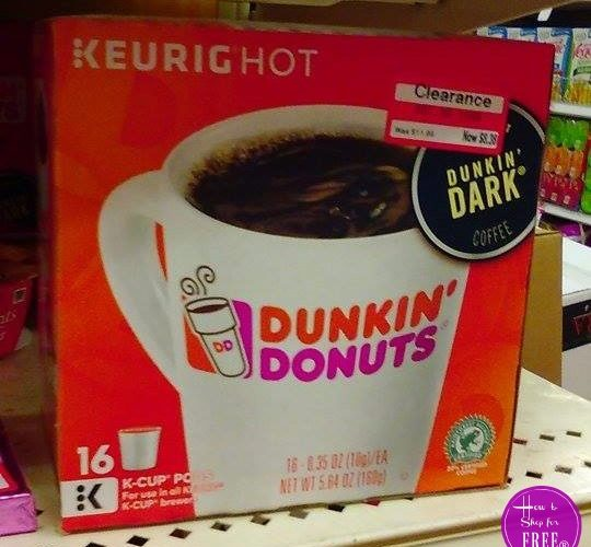 16ct. Dunkin Donuts K-Cups 53% OFF!! ~UNDER $6!