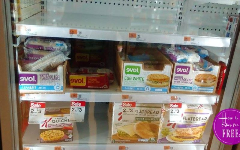 50¢ Evol Sandwiches at Target!