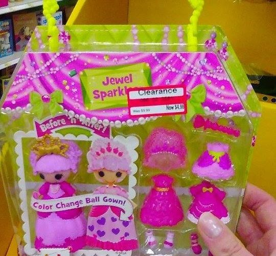 Lalaloopsy Mini Princess Doll as low as $3!!