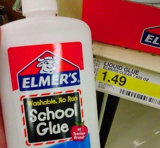 49¢ Elmer's Glue at Target!!