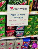 $1.88 Pepsi 12-packs at Target, through 8/26