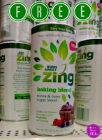 FREE Born Sweet Zing Stevia!! (through 8/26)