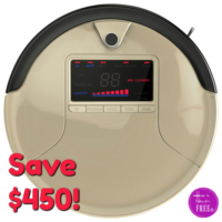 67% OFF bObsweep PetHair Robotic Vacuum, Today Only!