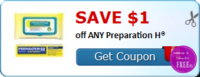 SAVE $1.00 off ANY Preparation H®