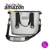 50% OFF YETI Hopper 30 Portable Cooler, Today Only!