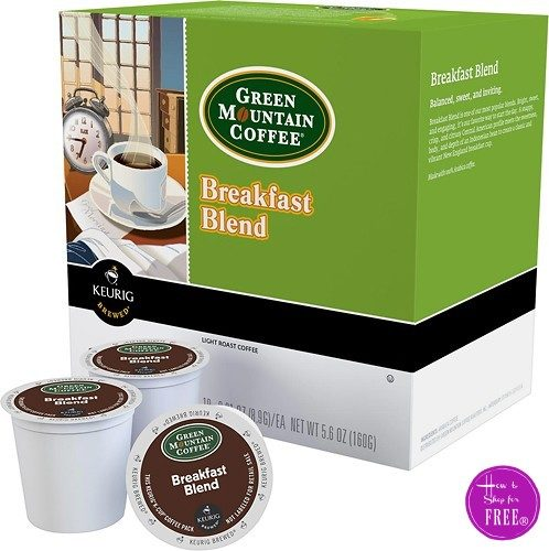 48ct. Green Mountain Breakfast Blend K-Cups® $14.99! (50% OFF)