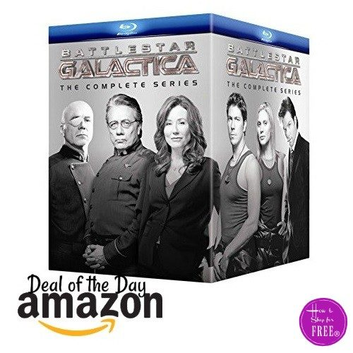 $79.99 Battlestar Galactica: The Complete Series on Blu-ray *52% OFF*