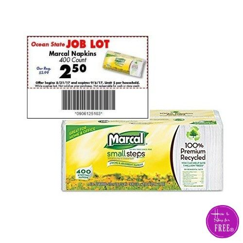 400ct Marcal Napkins ONLY $2!