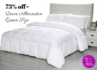 $23.99 Down Alternative Comforter (Was/$90!)