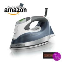 $32 BLACK+DECKER Professional Steam Iron ~Today Only, $13 OFF