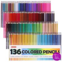 51% OFF 136ct. Colored Pencils on Lightning Deal! ~HURRY!