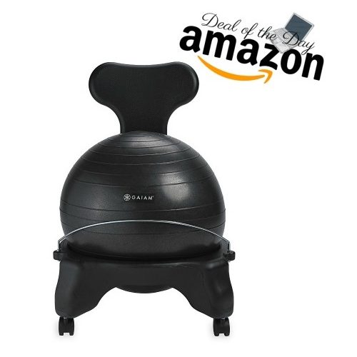 25% OFF Gaiam Balance Ball Chairs ~Deal of the Day