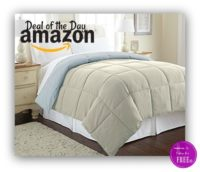 Deal of the Day~ Goose Down Alternative Reversible Comforters ON SALE!