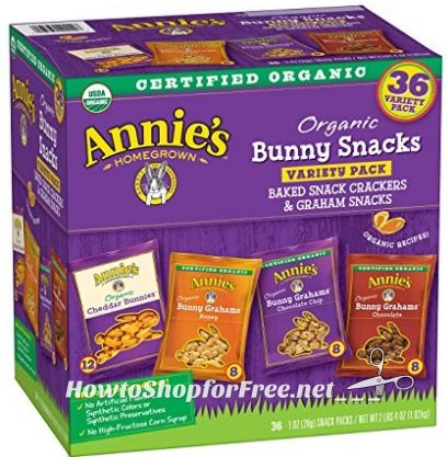 **Amazon BTS Deals** Annies Organic Variety Pack (36ct) ~ ONLY 24¢ per pack!