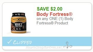 **NEW Printable Coupon** $2.00/1  Body Fortress Product